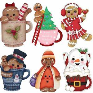 Gingerbread Cutting Dies Card Making Scrapbooking Christmas Die DIY Paper Crafts