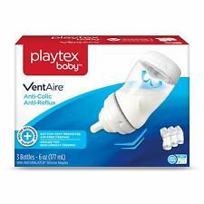 Playtex Baby VentAire, Anti-Colic Anti Reflux, 6 Oz, 3 Bottles