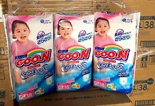 GOON Japanese Nappy Girl Pants Japan Size XL (12~20kg) 38pcs Carton #39667