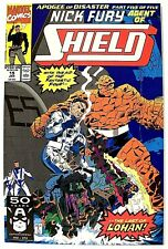"""NICK FURY, AGENT OF SHIELD""  Issue #19 (Jan, 1991) (Marvel Comics) f. the THING"