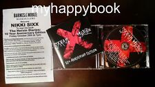 SIGNED The Heroin Diaries Soundtrack SIXX A.M. CD+ DVD autographed by Nikki Sixx