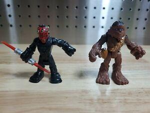 Star Wars 2011 Hasbro Imaginext Action Figure Chewbacca & Darth Maul