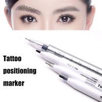 Permanent Eyebrow Microblading Tattoo Pen Marker Eye Brow Liner Makeup Beauty