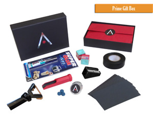 ACS Snooker/Pool Prime Cue Tip Accessory Kit Gift Box - Elk Master Tips