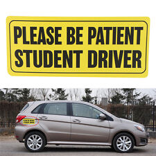 Zone Tech Car Please Be Patient Student Driver Reflective Waterproof Sign 2017