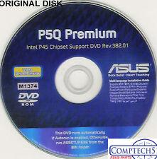 ASUS GENUINE VINTAGE ORIGINAL DISK FOR P5Q PREMIUM  Motherboard Disk M1374