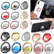 Various 360° Finger Grip Magnetic Metal Ring Tablet Phone Stand Holder Bracket