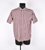Carhartt Unidad Manga Corta Hombre Camisa Talla L