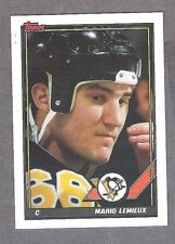 "1991-92 Topps Mario Lemieux ""Pre-Production Sample"", Mt"