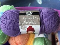 Loops & Threads Impeccable Yarn 268 Yards Lavender