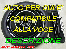 Kit ruotino di scorta da 14 Mitsubishi Space Star 2013 2020