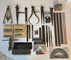 machinist tools lot 33pc