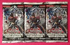 3x YuGiOh Battle Pack Epic Dawn Booster Pack 5-card(1 Starfoil) English 1st Ed