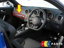 Neuf D'Origine Audi Tt 8J Boite à Gants Aluminium Argent Bordure Rhd 8J2857185A
