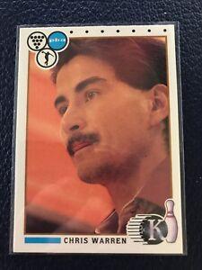 RARE 1990 Kingpins PBA Bowling #84  CHRIS WARREN  NM/MT+  Pack Fresh!