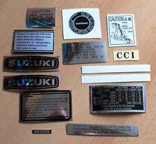 SUZUKI GT750 KETTLE SET OF 14 DECALS