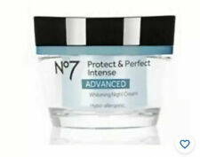 No 7 Protect & Perfect Advance Whitening Night Cream 50 ml New & Boxed