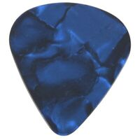 1X(20 pieces elegantes et colorees 0.71mm Guitar Picks Celluloid Mediators P RFV