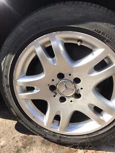 mercedes w211 alloy wheels (AANKA)