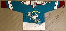 1995 Teemu Selanne Mighty Ducks of Anaheim Alternate Jade Jersey Men's Large