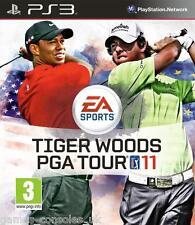 Sony Ps3 Tiger Woods Pga Tour 11 Nuevo Y Sellado 2011 Golf