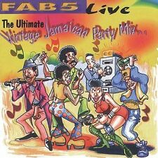 FAB 5 - Ultimate Vintage Jamaican Party Mix - Pt. 1 - CD - Live - *BRAND NEW*