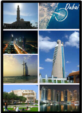 DUBAI - SOUVENIR NOVELTY FRIDGE MAGNET - SIGHTS / BRAND NEW / GIFTS