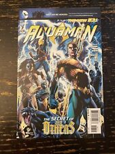 Aquaman #7 Geoff Johns (1st App. The Others) Free Combine Shipping