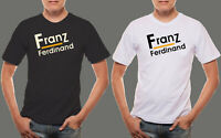 New Design Franz Ferdinand Indie Logo Men's Black & White Tee T shirt GILDAN