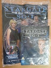 DVD COLLECTION STARGATE SG 1 PART 42 + MAGAZINE - NEW SEALED IN ORIGINAL WRAPPER