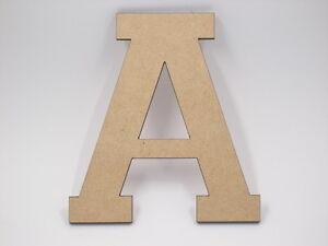 60cm Large Wooden Letter Words Wood Letters Alphabet Name Wedding Home Decor VAR