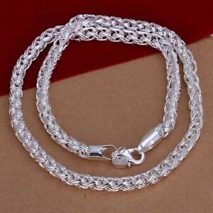 Königskette Silberkette Sterlingsilber 925 Herren Damen 50cm 6mm k2c