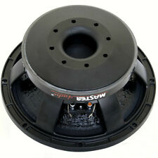 """WOOFER MASTER AUDIO FROM 30,00 CM 300 MM 12"""" LSN12/8 8 OHM 500 WATTS RMS REAL"""
