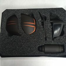 Cyborg Pc Gaming Mouse Parts Black Orange