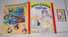 GIOCA E SUONA CON CRISTINA D'AVENA 6 Fascicolo + musicassetta De Agostini 1988
