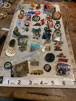 Lapel Pin LOT Travel Organization Girl Scout Boy Scout Disney Lapel PINS
