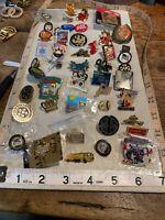 Lapel Pin LOT Travel Organization Girl Scout Boy Scout Disney Lapel PINS
