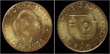 Gold Tonga 20 Pa'anga 1980