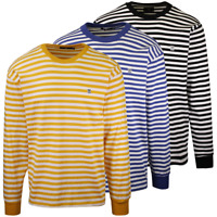 OBEY Men's 89 Icon II Striped L/S T-Shirt (S01)