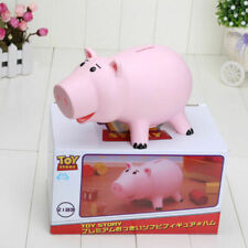 1 Toy Story Hamm Figures Coins Save Money Box Piggy Bank Pink Toys Pig with Box