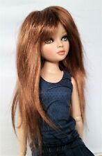 Monique DEBBIE Wig 6/7 for Senson Ellowyne Pukifee Doll Iplehouse CHOCOLATE RED