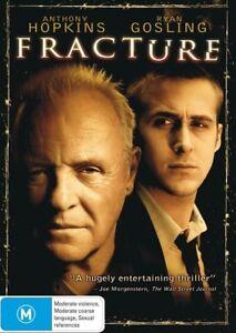 Fracture (DVD, 2013) Thriller & Mystery - Ryan Gosling, Anthony Hopkins