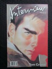 1986 May INTERVIEW Andy Warhol Magazine FN+ 6.5 Tom Cruise