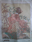 Glorafilia Needlepoint Tapestry Canvas #312 Asian Woman & Fans Made in England