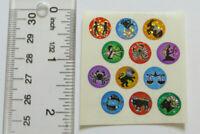 Sandylion ZODIAC SIGNS - Square of 12 ZODIAC Stickers Vintage No Longer Printed