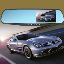 "HD 1080P Car DVR 4.3"" Video Recorder Dash Cam Rearview Mirror Camera Recorder"