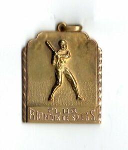 1955 Orig Cuban Baseball Homage Award Medal HOF Player ORESTES MINOSO