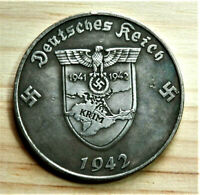 W.W.2 GERMAN COLLECTORS COIN 1942 5 REICHSMARK KRIM