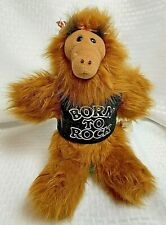 Vintage ALF Hand Puppet Born To Rock