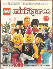 NEW LEGO Minifigures Ultimate Sticker Collection Series 1-7 DK Publishing book